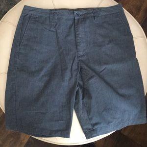 Men's flat front walking shorts